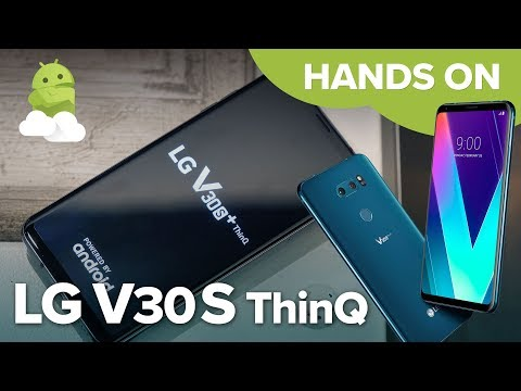 LG V30S+ ThinQ hands-on!