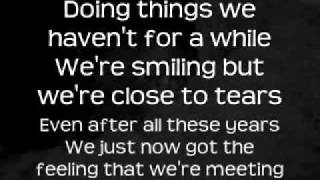 The Script - For The First Time with lyrics