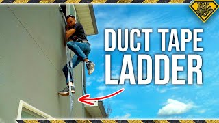 How Safe Is A Duct Tape Ladder?
