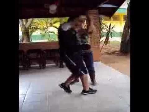 Elaine e Vander em Ibiuna