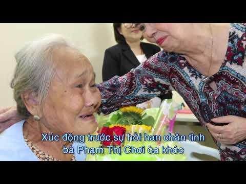 Nụ cười hạnh phúc của những người bệnh