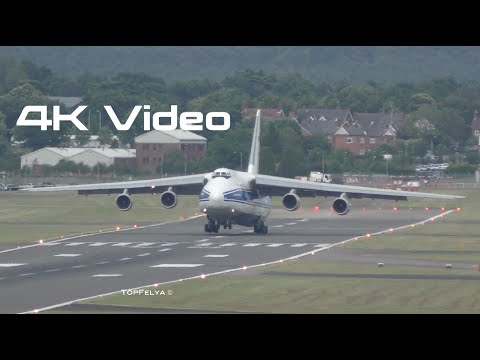 4K Video. Antonov An-124 world's...