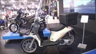 8. The 2018 PIAGGIO Liberty Delivery scooter