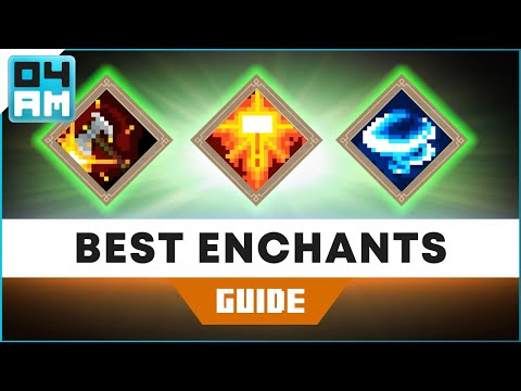The BEST Weapon & Armor Enchantments in Minecraft Dungeons