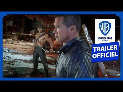 Mortal Kombat 11 Ultimate   Rambo VS Terminator - Trailer Officiel de Gameplay