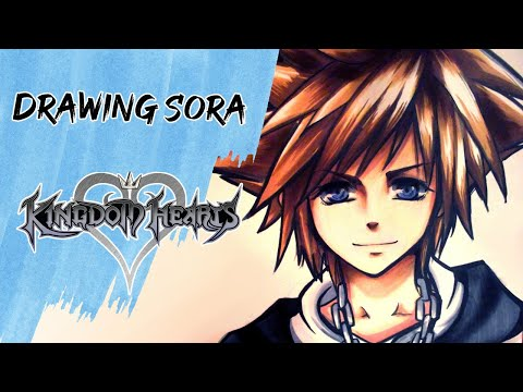Sora (Kingdom Hearts) - This is the 3rd majority request video from deviant art, the first was youtube, second was face book and now deviant art! *Achievement unlocked* ... Picture:...