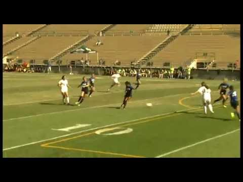 Elise Krieghoff Becomes Cal Poly's All-Time Goals Leader (Mustang News)
