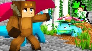 Pixelmon - GRASS GYM BATTLE! (Minecraft Pokemon Roleplay) Episode 13