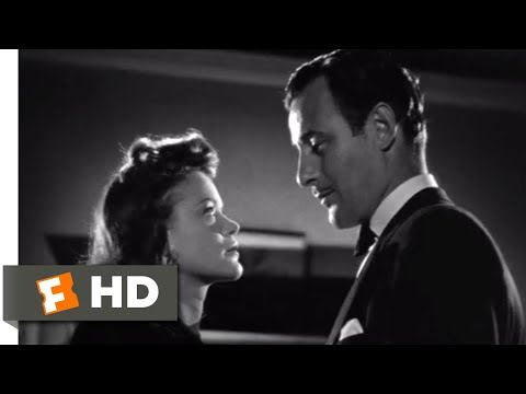 Cat People (1942) - A Deadly Kiss Scene (7/8)   Movieclips