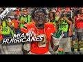 Miami Hurricanes Defensive Highlights Vs Notre Dame  Turnover Chain  11 11 17