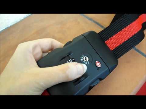 Cinghia di sicurezza per valigie e bagagli Gearmax®