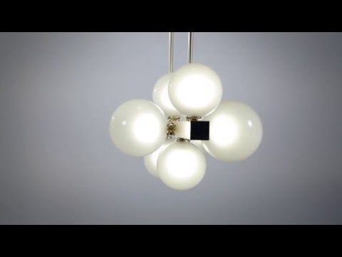 Video for Hinsdale Old Bronze Four-Light Pendant