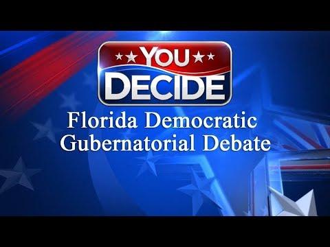 Florida Democratic Gubernatorial Debate