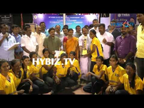 29th Junior State Basketball Championship, Chennai