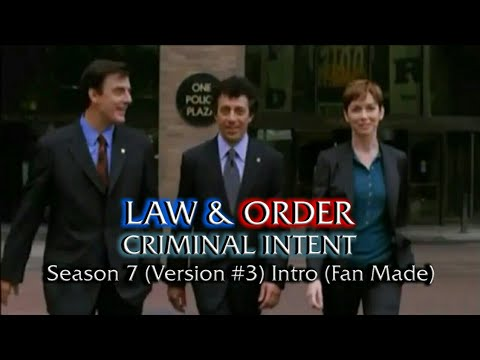 Law & Order: Criminal Intent: Season 7 (Version #3) Intro (Fan Made)
