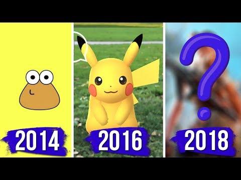El videojuego para móvil más exitoso de cada año 🕹️ (2010-2018)