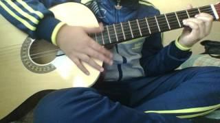 Humood AlKhudher -كن انت - حمود الخضر   Kun anta ( Guitar lesson débutant )