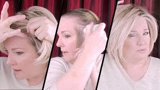 Video How I Prep My Hair and Secure My Wig / How To Use IT STAYS Adhesive / How To Put On A Wig MP3, 3GP, MP4, WEBM, AVI, FLV Juni 2018