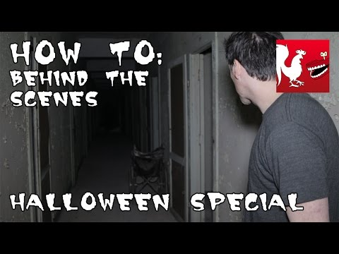 scenes - Revenge is a dish best served in a dark, haunted, and probably mostly asbestos filled hallway. RT Store: http://bit.ly/1vduQ60 Rooster Teeth: http://roosterteeth.com/ Achievement Hunter:...