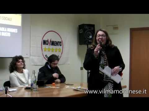 Presentazione Programma Ambiente M5S a Caserta 16 dicembre 2017