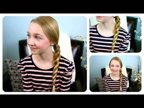 plait - Rope braids {or plaits} are one of the more simple hairstyles one can learn, because you do not need to know how to braid... it is made up only of twists! Th...