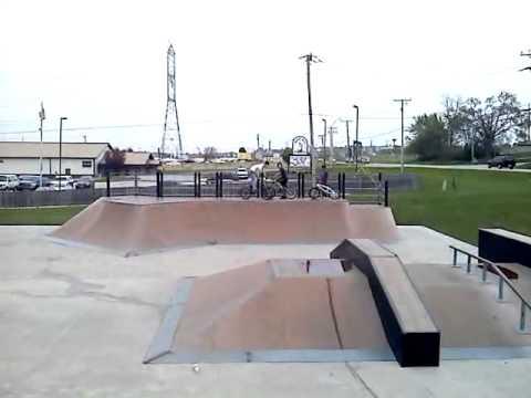 Skateworks Machesney Park IL Easy but Hard Bikers.