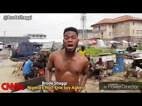 See BRODA SHAGGI's reply when asked what he would do if he saw money on the floor