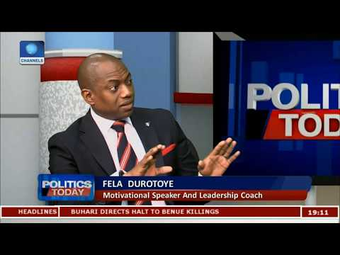 General Elections: Money Will Fail In 2019 - Fela Durotoye Pt.1 |Politics Today|