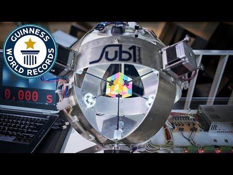 The World s Fastest Rubik s Cube Solving Robot