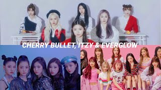 Video my opinion on cherry bullet, itzy and everglow's debuts MP3, 3GP, MP4, WEBM, AVI, FLV Juni 2019
