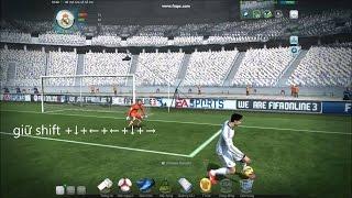 Mẹo FIFA Online 3:  Tâng bóng qua đầu thủ môn, fifa online 3, fo3, video fifa online 3