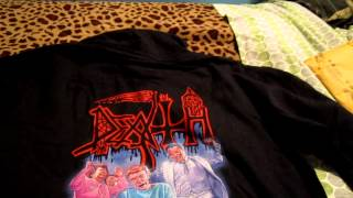 Download Lagu Death - Spiritual Healing Hoodie (unwrapping) - Relapse Records Mp3