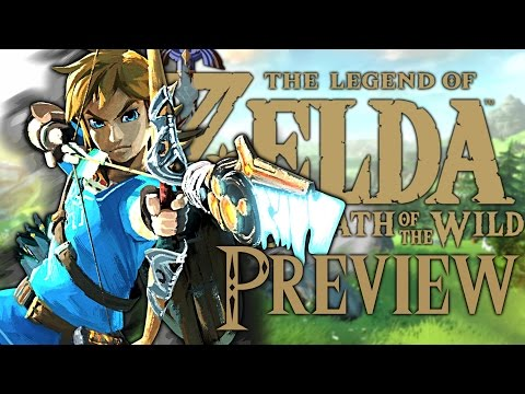 THE LEGEND OF ZELDA : BREATH OF THE WILD | PREVIEW ET TEST FR (видео)