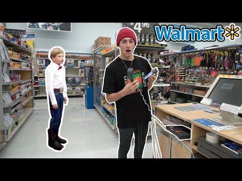 PLAYING THE WALMART YODELING KID ON THE INTERCOM AT WALMART! (EDM REMIX)