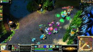 (HD052) 5c5 Final PowerLeague -part 1- League Of Legends Replay [FR]