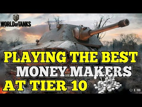 WHAT TANKS MAKE THE MOST CREDITS AT TIER 10? || World of Tanks (+3,200WN8)