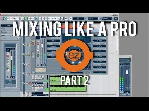 How To: Cubase – Mixing Music Like a Pro Part 2
