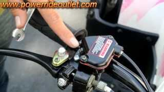 6. ATV 101 How to adjust speed limiter on your ATV