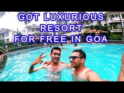 MUMBAI AIRPORT to GOA | GOT LUXURIOUS BEACH RESORT IN GOA FOR FREE | GOA Episode 1