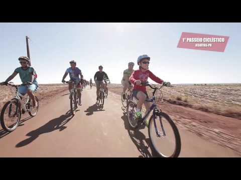 1º Passeio Ciclístico em Jesuítas - Pr
