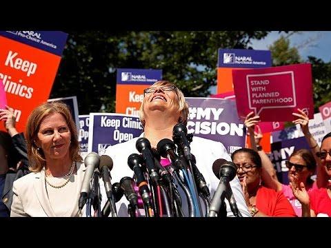 ΗΠΑ: «Ναι» στην έκτρωση απεφάνθη το Ανώτατο Δικαστήριο