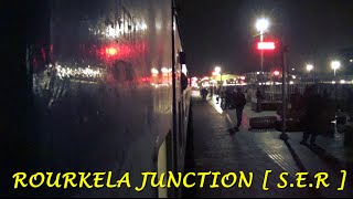 Rourkela India  city photo : Indian Railways..ROURKELA Junction|Arrival,Departure and overtaking an Express train!