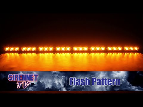 Flash Pattern: Whelen TAC8 Series Super-LED Traffic Advisor