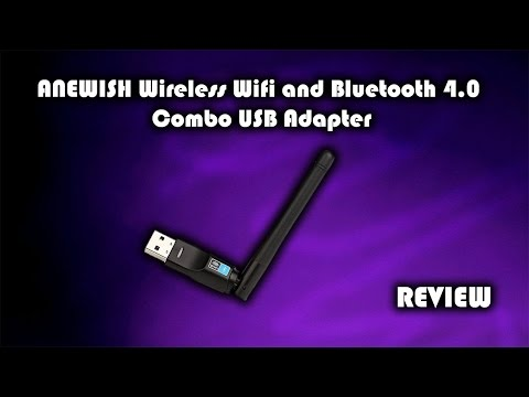 ANEWISH Wifi and Bluetooth 4.0 Combo USB Adapter Review