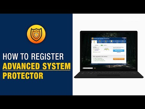 How To Register Advanced System Protector On Windows