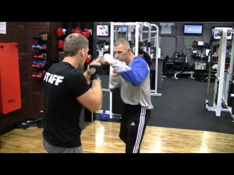 Fonfara's workout on 6 days before fight with Miller