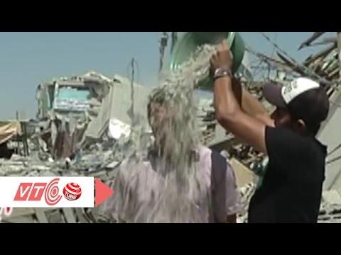 'Thử thách xô nước đá' phiên bản Gaza