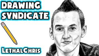 Syndicate Drawing - Fan Art Time Lapse