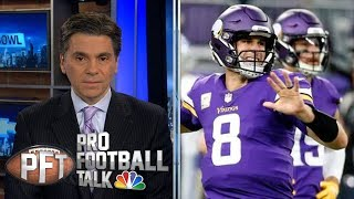 Kirk Cousins' critical mistakes sink Minnesota Vikings in Chicago | Pro Football Talk | NBC Sports