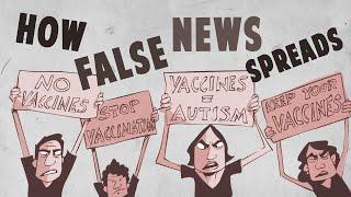 How false news can spread – Noah Tavlin